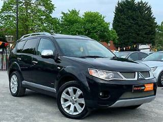 MITSUBISHI OUTLANDER 2.2DI DC DIAMOND 7 SEATER, EVERY EXTRA + ONLY 1 PRE OWNER !