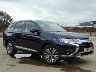 Mitsubishi Outlander 2.0 COMMERCIAL 5DR AUTO, 4999 miles, £21781