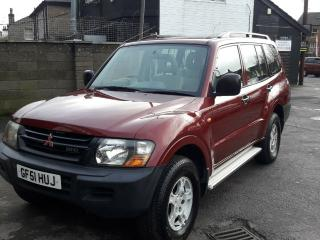 MITSUBISHI SHOGUN 7 SEATER DIESEL 4X4 AUTOMATIC TOW BAR READY