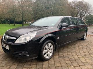 NEW ARRIVAL 2007 NEW SHAPE VAUXHALL VECTRA LIMOUSINE ONLY 23k MILES