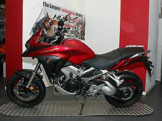 NEW Honda VFR800X Crossrunner ABS. Candy Red. £9,995 On The Road