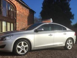 NEW SHAPE VOLVO S60 2.0TD D3 SE LUX ECONOMICAL DIESEL SALOON WITH LEATHER