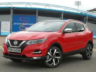 NISSAN 1.5 DCI 115PS TEKNA+ 5DR FLAME RED