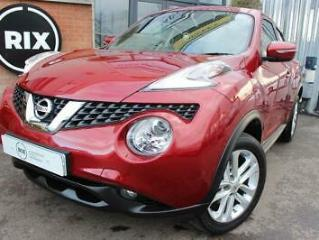 NISSAN JUKE,1.2 ACENTA DIG T 5D 1 OWNER FROM NEW LOW MILEAGE 17 ALLOYS PRIVACY