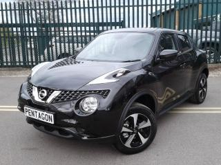 Nissan Juke 1.5 DCI BOSE PERSONAL EDITION 5DR SUV, 4999 miles, £14495