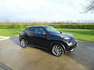 Nissan Juke 1.5dCi Diesel 110ps Tekna Euro 6 top of the range sat nav