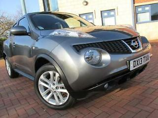 Nissan Juke 1.6 16v Tekna CVT 5dr 2013 Navigator + Heated Leather Seats