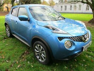 NISSAN JUKE 1.6 TEKNA BOSE *19* REG VIVID BLUE CAT S FULLY REPAIRED
