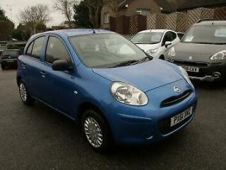 Nissan Micra 1.2 12v 79bhp 2011 Visia, MET BLUE,LOW TAX/INSURANCE,77K