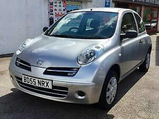 Nissan Micra 1.2 16v S 2005 55 Silver 3 Door Hatchback Ideal 1st car