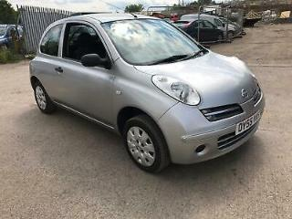 Nissan Micra 1.2 16v S 3 DOOR 2005 55 REG FULL 12 MONTHS MOT ON PURCHASE