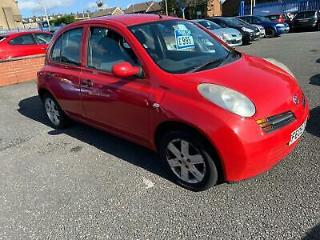 Nissan Micra 1.2 16v S 5 DOOR 2005 05 REG FULL MOT ON PURCHASE