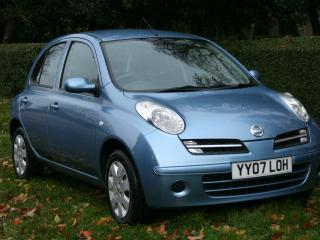 NISSAN MICRA 1 2 SPRITA 2007 70 000 MILES FULL SERVICE, LUXURY PACK + AIR/CON