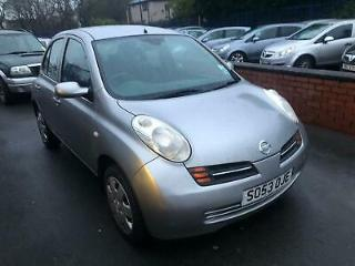 Nissan Micra 1.4 16v auto SE 5 DOOR 2004 53 REG FULL MOT ON PURCHASE