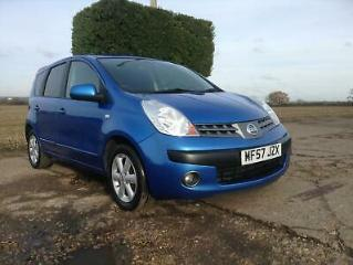 NISSAN NOTE 1.4 16V SE 2 OWNERS 92000 MILES 11 SERVICES SEP 2020 M.O.T