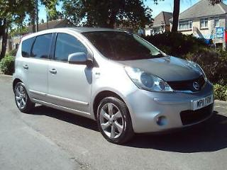 NISSAN NOTE 1.4 2011 N TEC COMPLETE WITH M.O.T HPI CLEAR INC WARRANTY