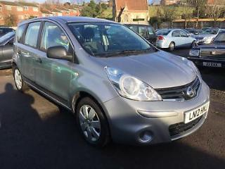 Nissan Note 1.5dci 90ps Visia 2012 12