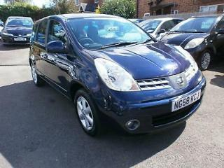 Nissan Note Acenta 1.4 PETROL MANUAL 2008/58