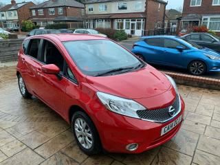 Nissan Note Acenta 2014 1.2 petrol *REDUCED