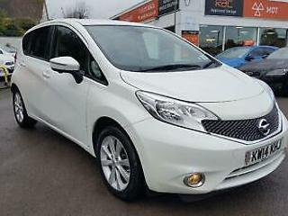 NISSAN NOTE DIG S Auto Start Stop Tekna White Auto Petrol, 2014