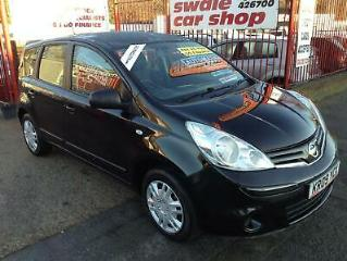 Nissan Note VISIA 5 Door PETROL AUTOMATIC 2009/09