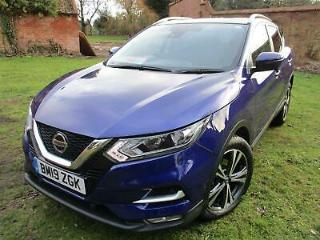 NISSAN QASHQAI 1.3 N CONNECTA 19 REG CAT S FULLY REPAIRED