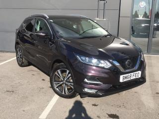 Nissan Qashqai 1.5 DCI 115PS N CONNECTA 5DR INC GLASS ROOF PACK SUV, 8320 miles, £15995