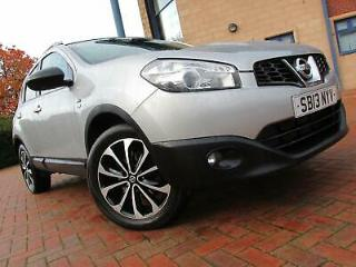 Nissan Qashqai 1.5 dCi 360 2013 Pan Roof Finance here 4U 01543 506518