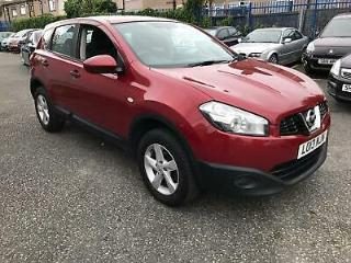 Nissan Qashqai 1.6dCi s/s 2WD Visia 2013 13 REG FULL MOT ON PURCHASE