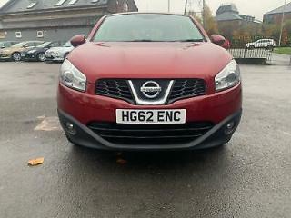 NISSAN QASHQAI dCi 110 Acenta Red Manual Diesel, 2012