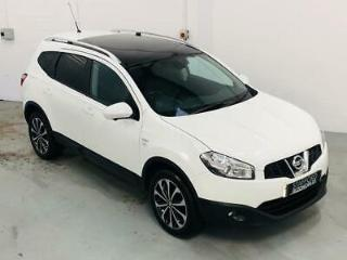 Nissan Qashqai N TEC+ PLUS 2 1.6 IS Petrol White Manual 2012 MPV