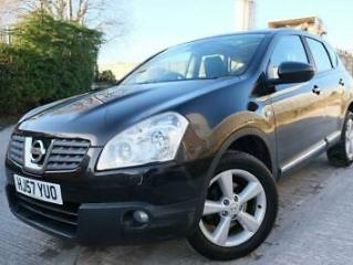 NISSAN QASHQAI TEKNA 1.6 5 DOOR*FULL LEATHER*PAN ROOF*BLUETOOTH*PARKING SENSORS