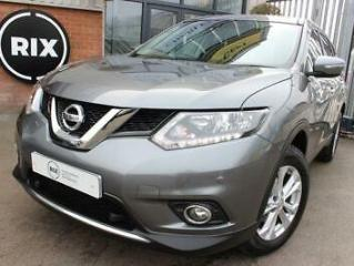 NISSAN X TRAIL,1.6 DCI ACENTA 5D 1 OWNER FROM NEW PANORAMIC ROOF 17 ALLOYS PARK