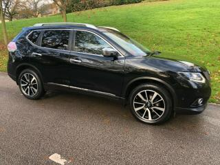 NISSAN X TRAIL 1.6 DCI TEKNA DIESEL SUV 2015/65 BLACK TOP SPEC
