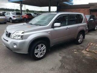 NISSAN X TRAIL 2.0 SPORT DCI DIESEL 4X4 LEATHER,PREVIOUSLY SUPPLIED,65K MILES