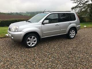 Nissan X Trail 2.2dCi 2006 Columbia,4 wheel drive diesel estate,Tow bar,Sat Nav