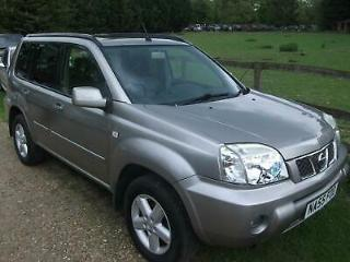 Nissan X Trail Sve ONLY 95K!FULL LEATHER! PETROL MANUAL 2005/55
