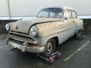 Opel Olympia Rekord 2 door saloon two previous owners for restoration complete