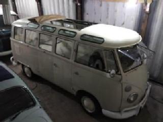 ORIGINAL VW KOMBI SPLIT SCREEN CAMPER BUS SAMBA & SAFARI 25 WINDOWS RAGTOP RHD