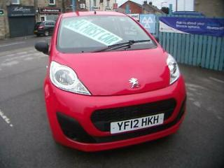 Peugeot 107 1.0 12v Access LOW MILES £0 ROAD TAX SERVICE HISTORY IDEAL FIRST CAR
