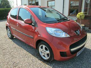 Peugeot 107 1.0 12v Verve. 2010. 5 Door. MOT April 2020.LOW miles. £20 road tax