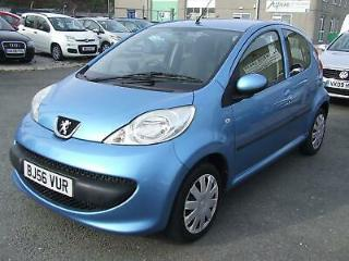 Peugeot 107 URBAN 5 Door PETROL MANUAL 2007/56