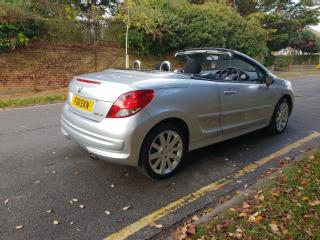 PEUGEOT 207 GT CONVERTIBLE HDI 2011 1 OWNER FROM NEW