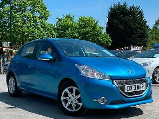 PEUGEOT 208 1.2 VTi ACTIVE 5 DOOR, FULL SERVICE HISTORY + £20 TAX + TOUCH SCREEN