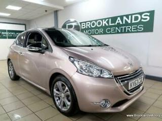 Peugeot 208 1.4 ALLURE [3X PEUGEOT SERVICES, SAT NAV and LEATHER]