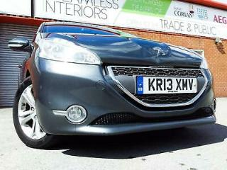 PEUGEOT 208 1.6 e HDi ALLURE 2013 / NEW SHAPE / LEATHER / 7 LCD TOUCH / 1 OWNER