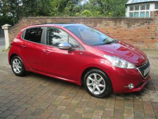 PEUGEOT 208 STYLE 1.6 E HDI. ZERO ROAD TAX.STOP/START.2014.LOW MILES.MAY PX