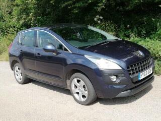 Peugeot 3008 1.6 HDI Active E S/A Auto 6 speed. 2013 metallic blue.Updated model