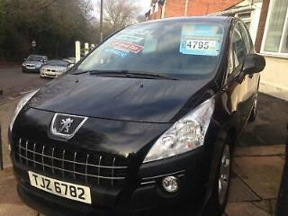 PEUGEOT 3008 ACTIVE E HDI S A AUTOMATIC 2012MY 38k FSH PRIVATE REG INCLUDED