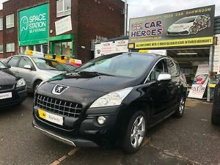 PEUGEOT 3008 CROSSOVER 1.6 HDi 110 EXCLUSIVE AA WARRANTY PACKAGE INCLUDED